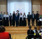Рождественский концерт в Большеигнатовской школе