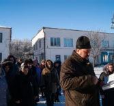 Праздник Крещения Господня провели в различных учреждениях Большеигнатовского района