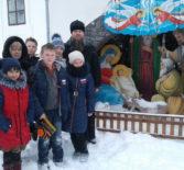 Учащиеся 4 «а» класса Чамзинской школы № 2 посетили Трехсвятскую церковь с. Сабур-Мачкасы Чамзинского благочиния