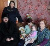 Архипастырь посетил многодетные и малоимущие семьи г.Ардатова