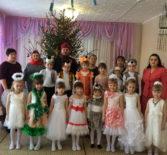 Рождественский утренник в детском саду «Рябинка» п.Тургенево Ардатовского района