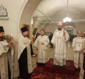 Накануне праздника Святого Богоявления Архипастырь совершил Всенощное бдение в Никольском кафедральном соборе г.Ардатова
