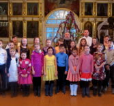 В воскресной школе при Вознесенском приходе с.Атяшево второго церковного округа Атяшевского благочиния прошёл Рождественский утренник
