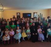 В воскресной школе при Благовещенском приходе п.Комсомольский Чамзинского благочиния прошёл Рождественский утренник