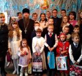 На приходе Трех Святителей с.Сабур-Мачкасы Чамзинского благочиния прошел святочный концерт