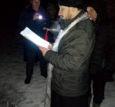 В Ардатове освятили иордань на реке Алатырь