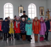 Занятие о Великом посте для учащихся Поводимовской СОШ прошло в храме Рождества Пресвятой Богородицы с.Поводимово Дубёнского благочиния