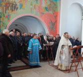 День вывода войск из Афганистана  и память по всем воинам, исполнявших служебный долг за пределами Отечества совершили в Благовещенском приходе п.Комсомольский Чамзинского благочиния