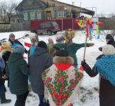 Широкая масленица в селе Кечушево Ардатовского района