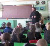 Встреча с учащимися Редкодубской СОШ Ардатовского района на Сретение Господне