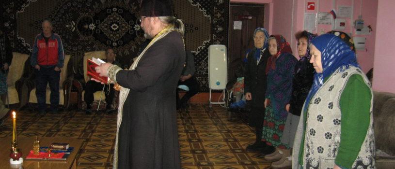 Насельники Большеигнатовского Дома престарелых и инвалидов причастились в первые дни Великого поста