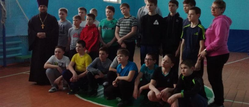 В Комсомольской СОШ №1 Чамзинского района прошел «Богатырский турнир», организованный по инициативе молодёжного отдела Чамзинского благочиния