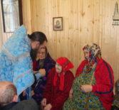 Праздник Сретения Господня в Большеберезниковском дом-интернате для инвалидов и престарелых