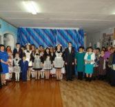 Праздничная встреча выпускников Лобаскинской школы Атяшевского района