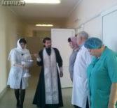 Освящение реанимационного отделения Ардатовской ЦРБ