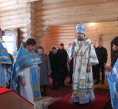 Архипастырь совершил Божественную литургию в храме Новомученников и Исповедников Российских г.Ардатова