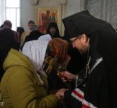 Неделя сыропустная, воспоминание Адамова изгнания, Прощеное воскресенье в Никольском кафедральном соборе г.Ардатова