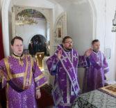 Суббота первой седмицы Великого поста, Архипастырь совершил Божественную литургию свт.Иоанна Златоустого в Никольском кафедральном соборе г.Ардатова
