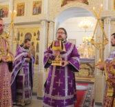 Неделя 2-я Великого Поста, Архипастырь совершил Божественную литургию свт.Василия Великого в Никольском кафедральном соборе г.Ардатова