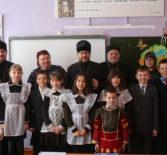 Архипастырь посетил открытый урок ОПК в Октябрьской СОШ Ардатовского района