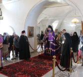 Архипастырь совершил Божественную литургию свт. Василия Великого  в Никольском кафедральном соборе г.Ардатова