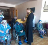 Великопостный визит в Поводимовский Дом для престарелых и инвалидов