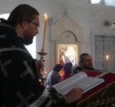 Архипастырь совершил последование Пассии-чтение акафиста Страстям Господним в Никольском кафедральном соборе г.Ардатова
