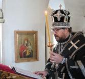 Архипастырь совершил Пассию в Никольском кафедральном соборе г.Ардатова