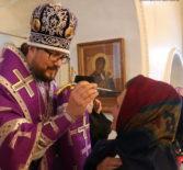 Архипастырь совершил Всенощное бдение  в Никольском кафедральном соборе г.Ардатова накануне 5-й Недели Великого поста
