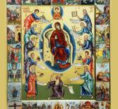 Похвала Божией Матери в Никольском кафедральном соборе г.Ардатова