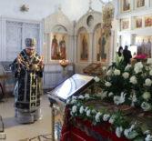 Вынос Святой Плащаницы в Никольском кафедральном соборе г.Ардатова