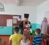 Пасхальный утренник в Лобаскинском детском саду Атяшевского района