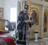 Понедельник Страстной седмицы, Архипастырь совершил Божественную литургию Преждеосвященных Даров в Никольском кафедральном соборе г.Ардатова