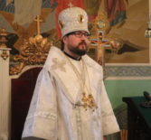 В Великую субботу Страстной седмицы, праздникБлаговещения Пресвятой Богородицы, Архипастырь совершил Божественную литургию в Благовещенском приходе п.Комсомольский Чамзинского благочиния