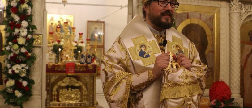 Преосвященнейший Вениамин, епископ Ардатовский и Атяшевский совершил Пасхальное богослужение в Никольском кафедральном соборе г.Ардатова