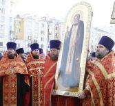 В Саранск прибыла великая святыня — икона святого преподобного Серафима Саровского с частицей святых мощей