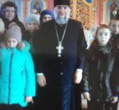 Священнослужитель провел практическое занятие об устройстве внутреннего убранства православного храма для учащихся Дюркинской СОШ