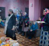 Радоница для насельников Большеигнатовского Дома престарелых