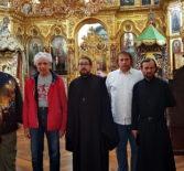 Паломники Ардатовской епархии посетили Свято-Андреевский мужской скит, подворье греческого монастыря Ватопед на Святой горе Афон