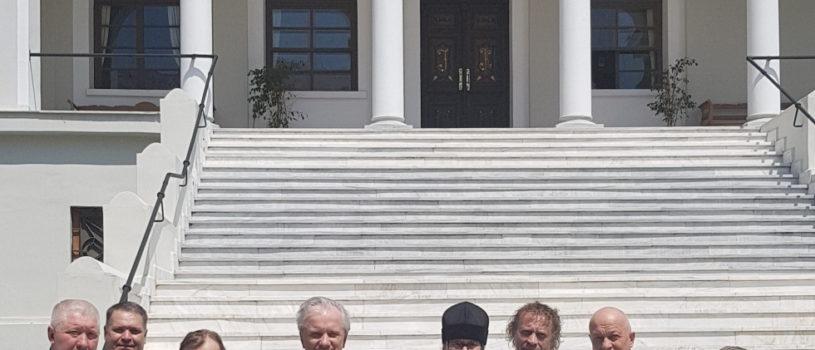 Паломники Ардатовской епархии посетили Карье — административный центр монашеской республики Афон
