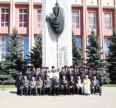В канун празднования 73-летия Великой Победы в главном управлении МВД по Республике Мордовия прошел праздничный митинг
