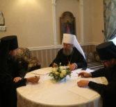 В Рождество-Богородичном Санаксарском мужском монастыре состоялся Архиерейский Совет Мордовской митрополии
