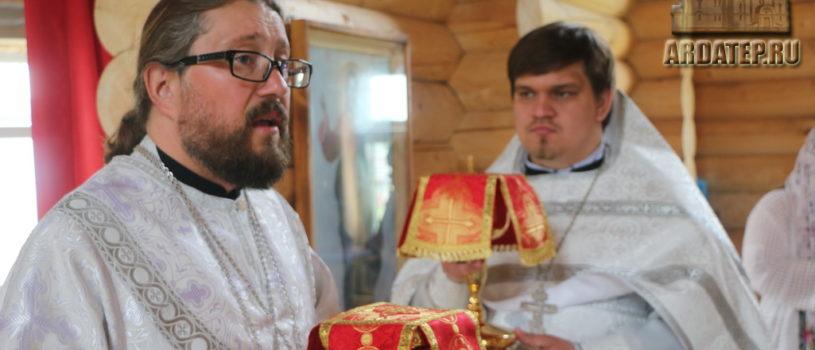 Субботнее архиерейское богослужение  в храме Новомученников и Исповедников Российских г.Ардатова