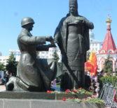 Архипастырь в Саранке принял участие в торжественных мероприятиях, посвящённые 73-й годовщине Победы в Великой Отечественной войне 1941-1945 годов