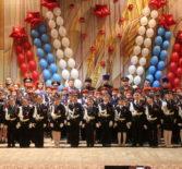 Архипастырь посетил торжественную церемонию посвящения в кадеты, которая прошла в Комсомольском ДК Чамзинского района