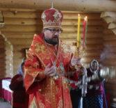 Отдание Пасхи в храме Новомученников и Исповедников Российских г.Ардатова