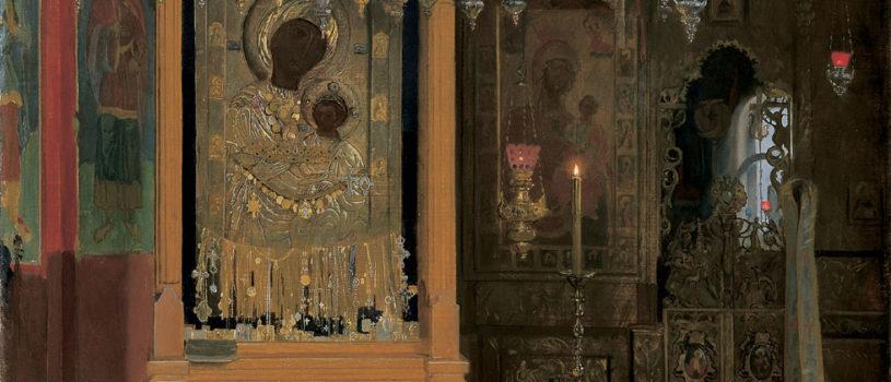 Архипастырь с паломниками Ардатовской епархии посетил Иверский мужской монастырь на Святой горе Афон