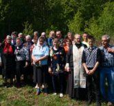 Отдание Пасхи встретили прихожане села Атяшево Большеигнатовского района
