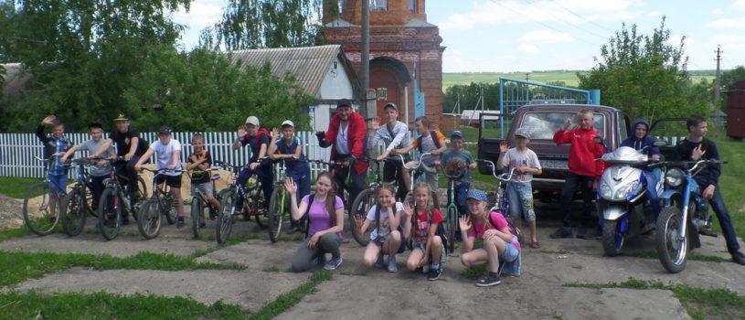 Воспитанники Кечушевской воскресной школы проводят летние каникулы с пользой для физического и духовного совершенствования