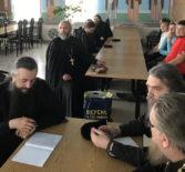 Духовенство Ардатовской епархии приняло участие в образовательных лекциях в Макаровском Иоанно-Богословском мужском монастыре г.Саранска